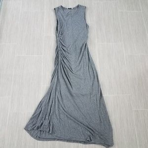 A.L.C grey maxi dress size medium